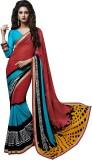 Dilwaa Self Design, Printed Fashion Geor...