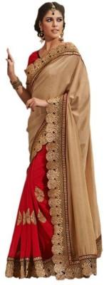 Shyam Creations Embriodered Bollywood Handloom Georgette Sari