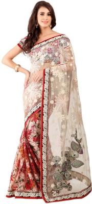 Snreks Collection Embriodered Fashion Pure Georgette Sari