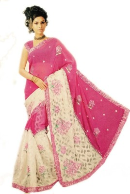 Ashish Embriodered Bollywood Silk Sari