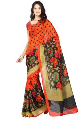 Jai Laxmi Silk Mills Printed Daily Wear Art Silk Sari