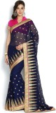 SareeShop Embroidered, Self Design Bolly...