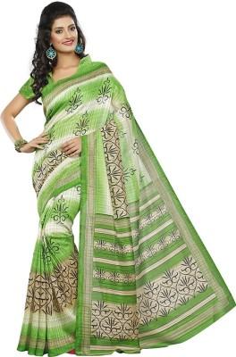 Raghuveer Fashion Printed Daily Wear Silk Sari