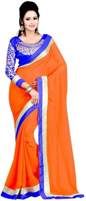 Bollywood Designer Self Design Bollywood Georgette Sari