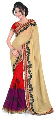 Kushbo Embriodered Bollywood Georgette Sari
