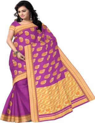 Pratami Embellished Chettinadu Handloom Silk Cotton Blend Sari