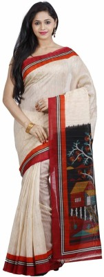 FastColors Printed Bollywood Art Silk Sari