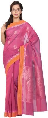 Pratamika Self Design Fashion Handloom Silk Cotton Blend Sari