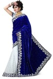 Mastani Embroidered Bollywood Velvet Sar...