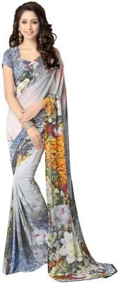 Cutie Pie Printed Fashion Georgette Sari