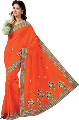 Vakharia Self Design Gadwal Chanderi Sari