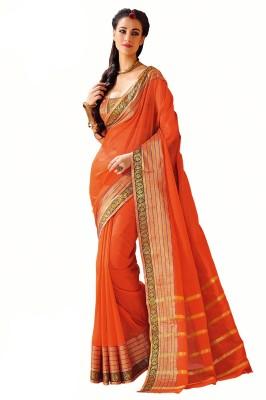 Salwar Studio Embellished Fashion Cotton Sari