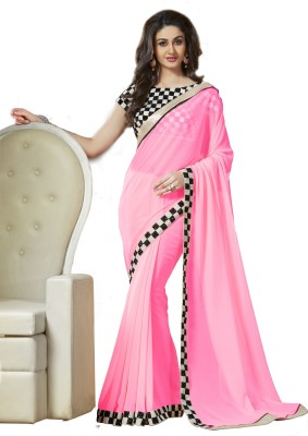 Kanha Fashionna Embriodered Bollywood Georgette Sari