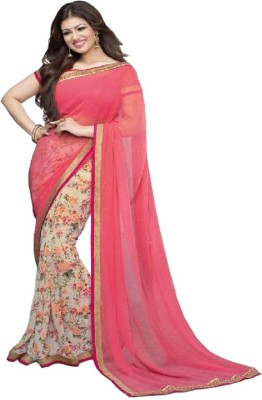 Hian Printed Fashion Georgette Sari