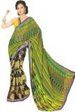 Preet Creations Printed Fashion Chiffon ...