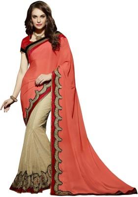 Fashionate Embriodered Fashion Banarasi Silk Sari