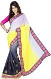 V Dream Embriodered Fashion Chiffon Sari