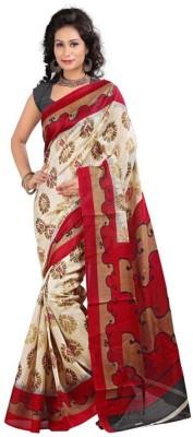 Parishi Fashion Printed Daily Wear Art Silk Sari