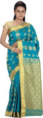 Srinidhi Silks Woven Kanjivaram Art Silk Sari