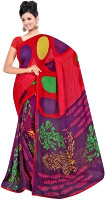 Maxusfashion Printed Bollywood Georgette Sari