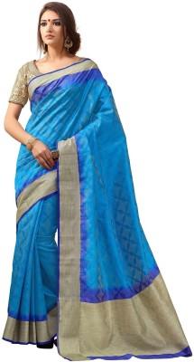 Katonline Woven Fashion Tussar Silk Sari