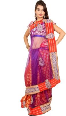 Pii Self Design Fashion Viscose Sari