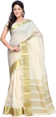 Thelibazz Embellished Fashion Tussar Silk Sari