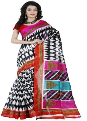 Sonakshi Sarees Printed Mysore Art Silk Sari