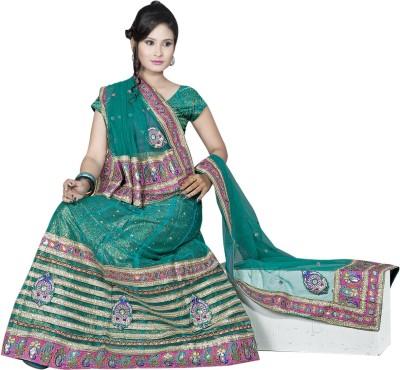 Khodiyar Creation Embriodered Fashion Net Sari