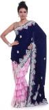 Adaab Embroidered Fashion Velvet Saree (...
