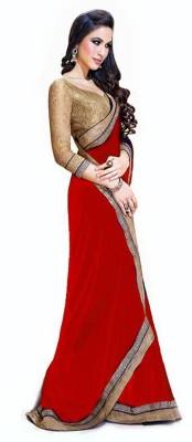 Shraddha Fashion Striped Bollywood Pure Georgette Sari