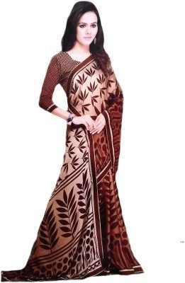 Arohee Printed Bollywood Silk Sari