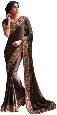 Vivacity Solid Bollywood Tissue Silk Sari
