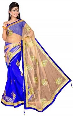 Bollywood saree Self Design Bollywood Net Sari