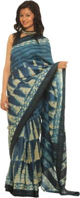 Indo Mood Printed Fashion Tussar Silk Sari