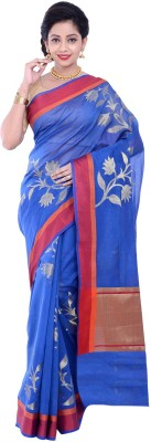 Nilanjana Self Design Bollywood Chanderi Sari