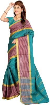 Pichkaree Self Design Fashion Cotton Sari