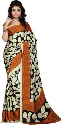 Jiya Self Design, Printed Fashion Silk, Crepe Sari