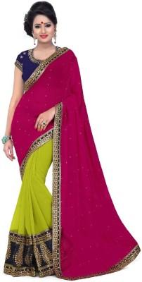 Janya Embriodered Bollywood Georgette Sari