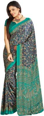 Roshni Printed Bollywood Crepe Sari