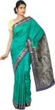 Aks Worldshop Solid Banarasi Art Silk Sa...