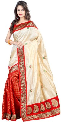 Sonakshi Sarees Embellished Chanderi Silk Sari