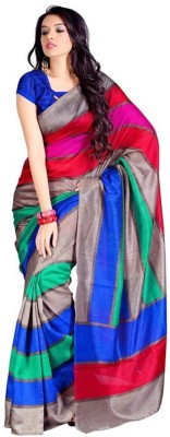 FASHION N DEALS Self Design Bhagalpuri Cotton Sari