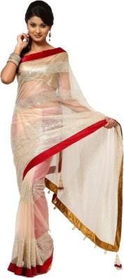 Indian E Fashion Self Design Bollywood Net Sari