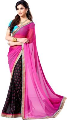 Sasural Self Design Fashion Georgette Sari