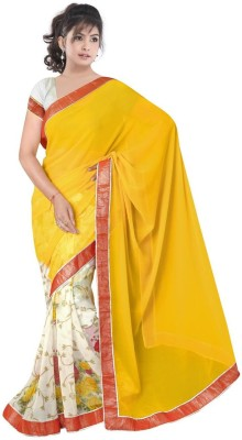 Dkcreation Printed Fashion Chiffon Sari
