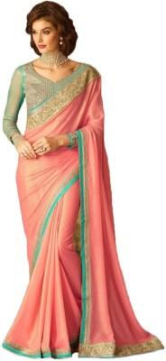 Manish Creation Embellished, Self Design Bollywood Georgette Sari