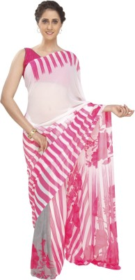 Jashn Printed Fashion Georgette Sari