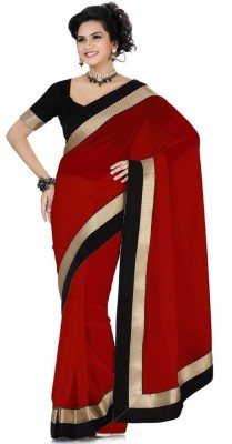 Divine Self Design Fashion Georgette Sari