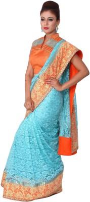 Raagbydeepa Embellished Fashion Handloom Lace Sari